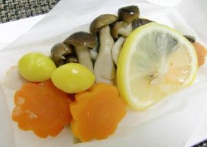 レシピ写真 鮭のホイル焼き