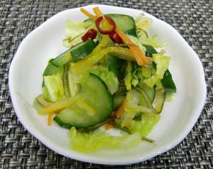 レシピ写真 昆布漬け(白菜・胡瓜)