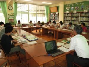 高道祖小教員いのちの学習会実施しました